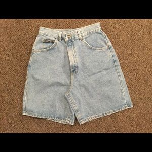 Lee Blue Jeans Shorts, Size 10